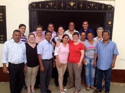 Binational delegation from the Presbyterian Church of Colombia (IPC) and the Presbyterian Church (U.S.A.).