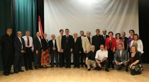 PC(USA) delegation along with the National Evangelical Synod of Syria and Lebanon