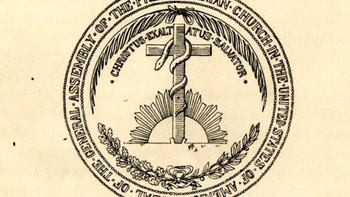 Seal of the General Assembly as recommended by the committee in 1891.
