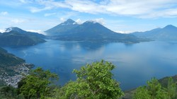 Lake Atitlan in Guatemala.