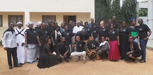 Participants in the EHAIA workshop in Abidjan, Ivory Coast.