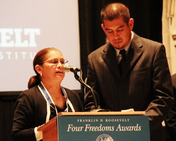 Nely Rodriguez and Gerardo Reyes Chavez of the CIW