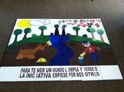 Finished La Oroya mural