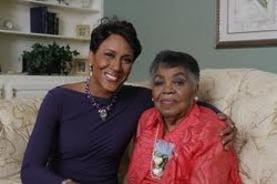 Lucimarian and Robin Roberts