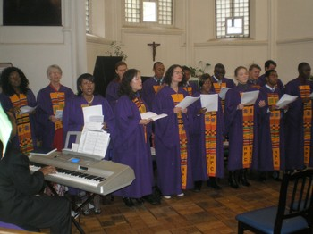 MPC's choir reflects the diverse membership of the congregation.