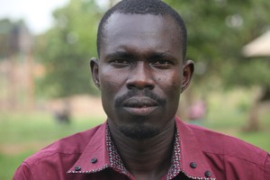 Malish James Morris, president of the 2015 REONCILE Peace Institute student body, hopes to share trauma healing and forgiveness to others in South Sudan.