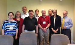 Presbyterian Church (U.S.A.) Advisory Committee on Social Witness Policy group.