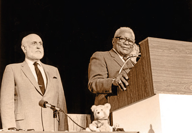 James Andrews and Martin Luther King, Sr., 1983
