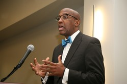 J. Herbert Nelson II was guest speaker of the Educate a Child,  Transform the World luncheon at the 221st General Assembly (2014) of the  PC(USA) in Detroit, MI on Thursday, June 19, 2014.