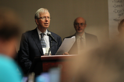 John Mattison addresses the Civil Union and Marriage Issues Committee at the 221st General Assembly (2014) in Detroit, MI on Monday, June 16, 2014.