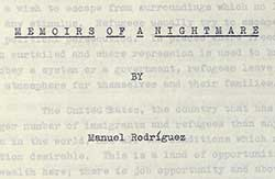 Memoirs of a Nightmare Cover
