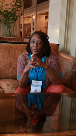 Tamara Williams at Polity Conference